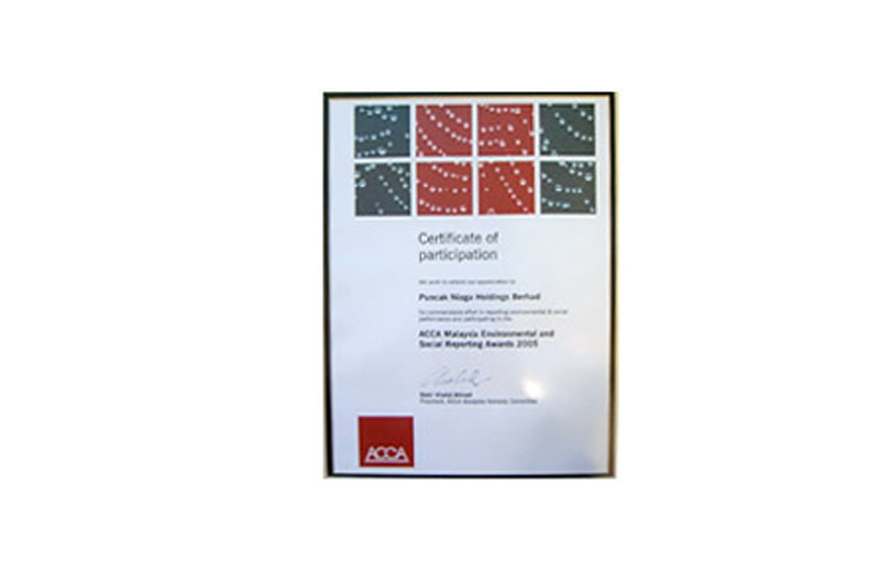 National Annual Corporate Report Awards (NACRA) 2005 Malaysian Institute of Management (MIM)